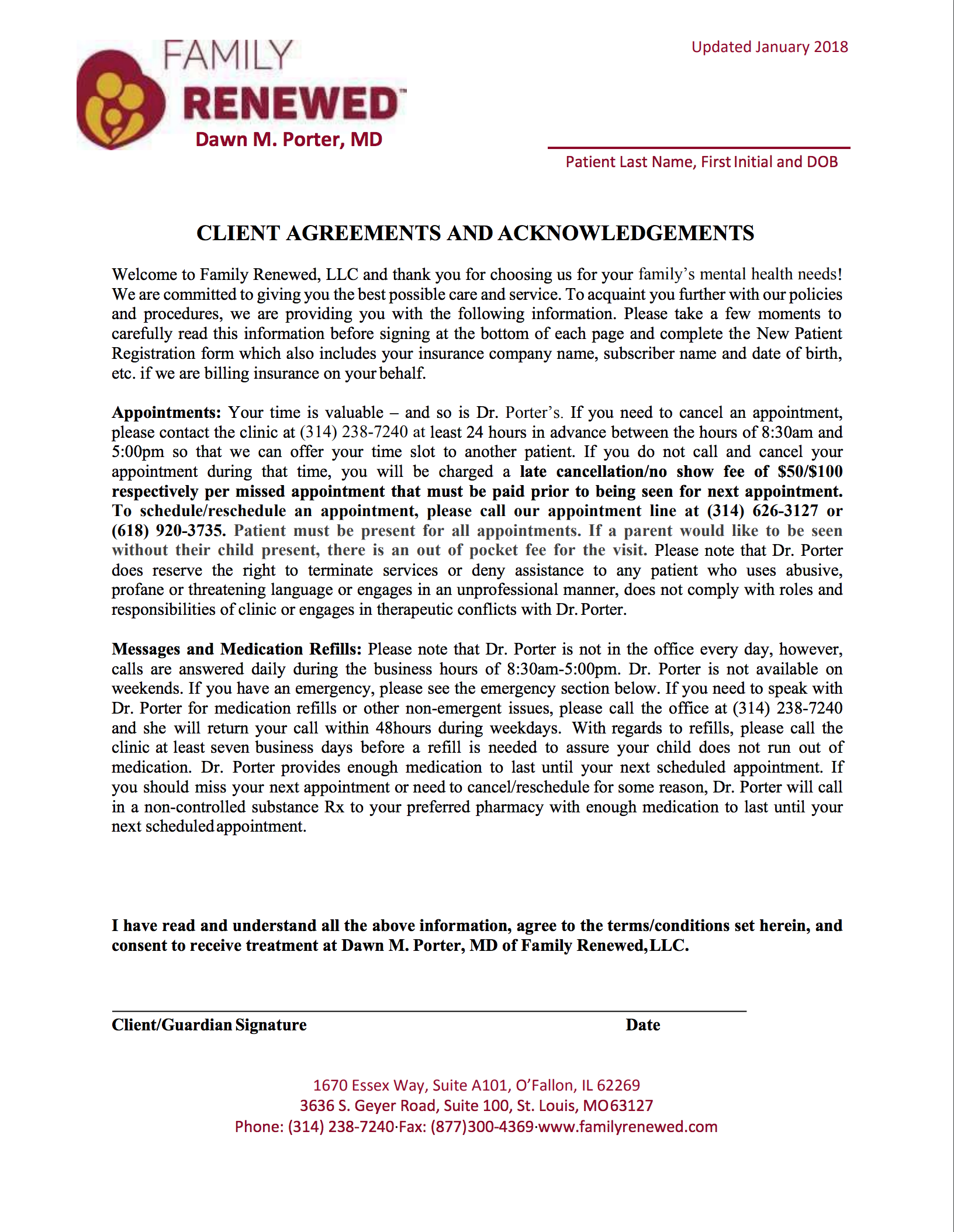 FR Client Agreements and Acknowledgments 10-31-15